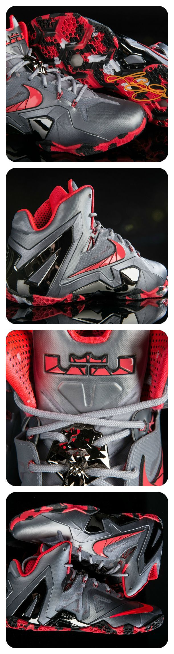 Tailored to James' powerful game, the LeBron 11 Elite is lightweight and strong. Get it now!