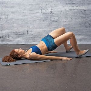 Lift It: Swaying Bridge..works all three muscles in the glutes
