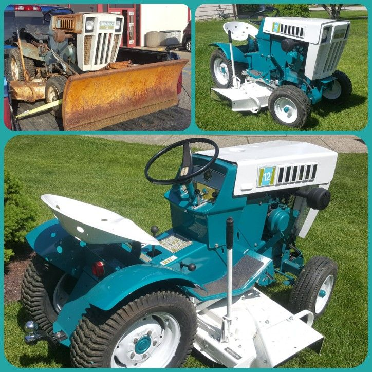 Sears Suburban 12 Garden Tractor : Best images about farming on pinterest