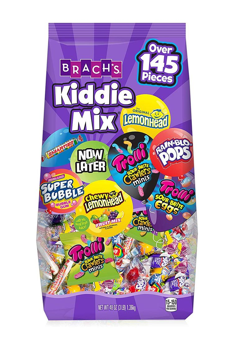Brach's Kiddie Mix Variety Pack Individually Wrapped
