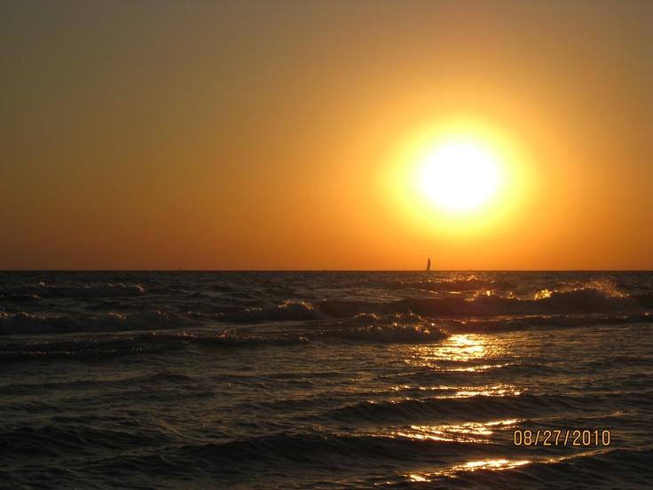Sun Set on Lake Michigan