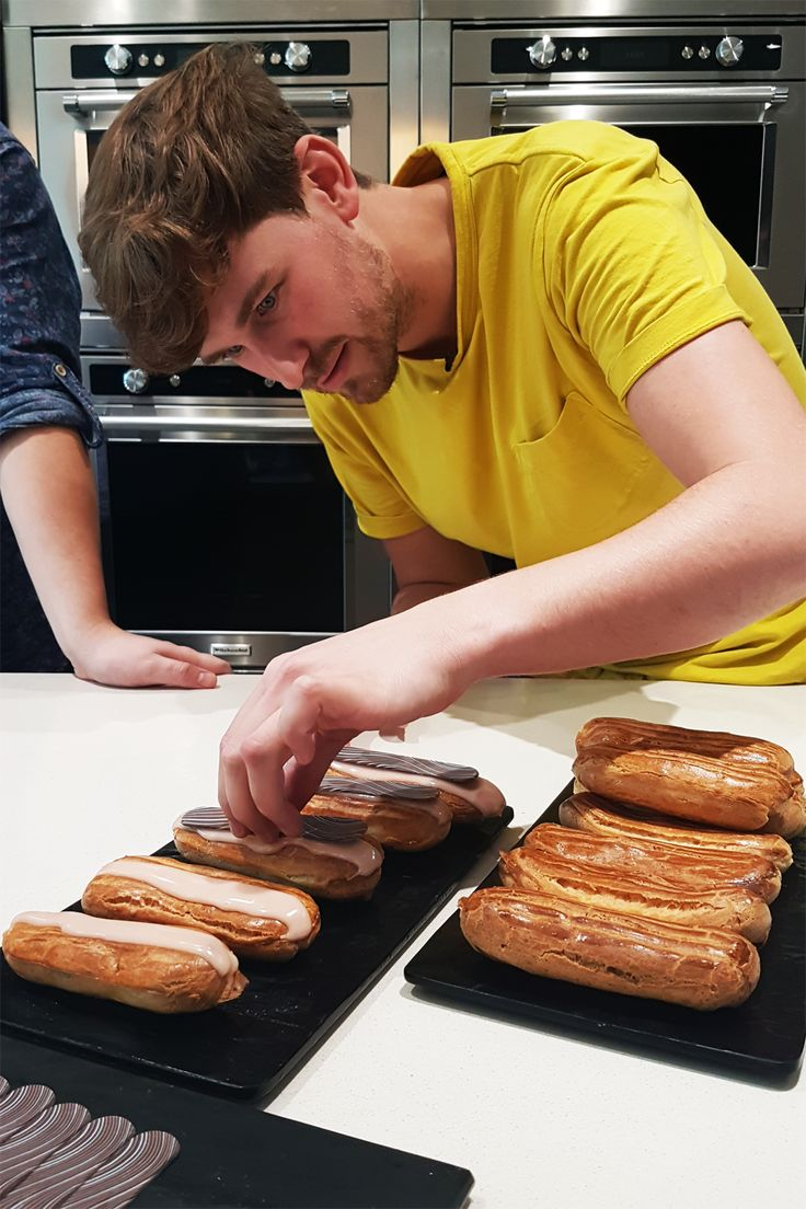 13 best sortedfood on set images on pinterest christmas carol mike fell head over heels with eclairs this summer after a trip to paris and today forumfinder Image collections