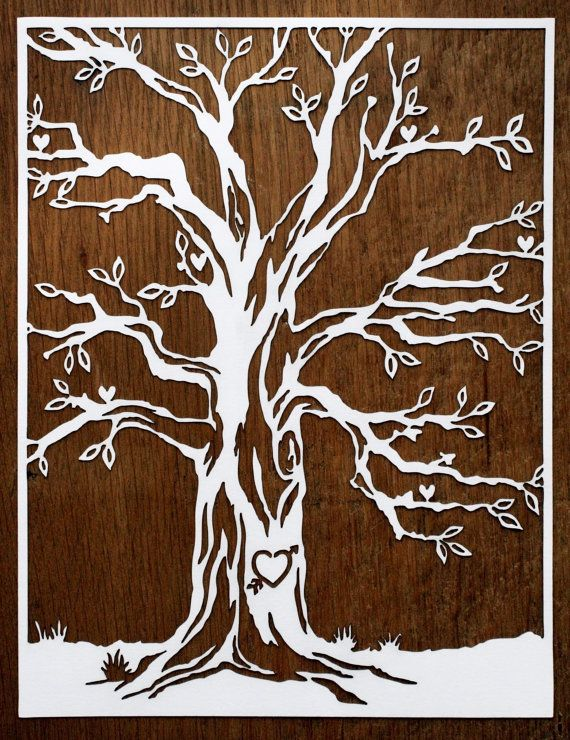 paper cut out art templates - 78 images about tree silhouettes vectors clipart svg