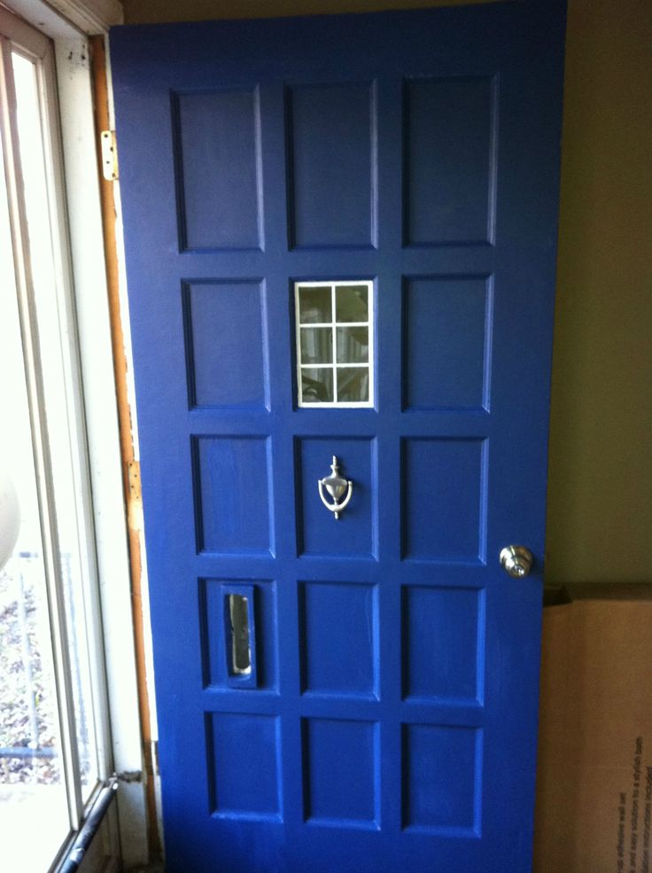 TARDIS Door for the home: Tardis Front, Tardis Blue, Tardis Doors, Blue Doors, Stuff, Blue Front Doors, Houses Ideas, Doctors Who Tardis, Dr. Who