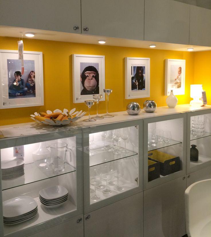 42 kitchen cabinets cabinet racks ikea besta mit led dioder | pinterest china ...