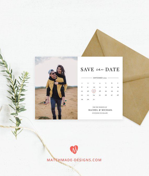 Make save the date online for free