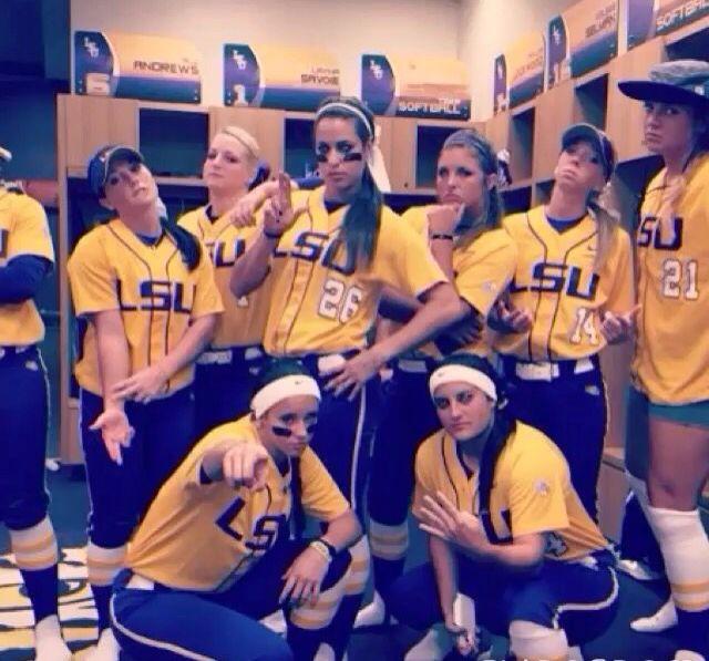 LSU softball