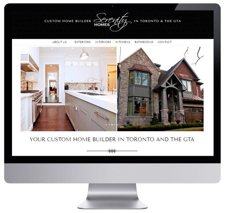 Custom Home Builder full website design  | #wordpress #websitedesign