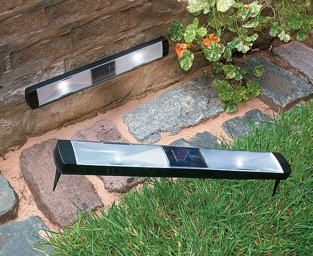 Pifcos Solar Powered Path Lights