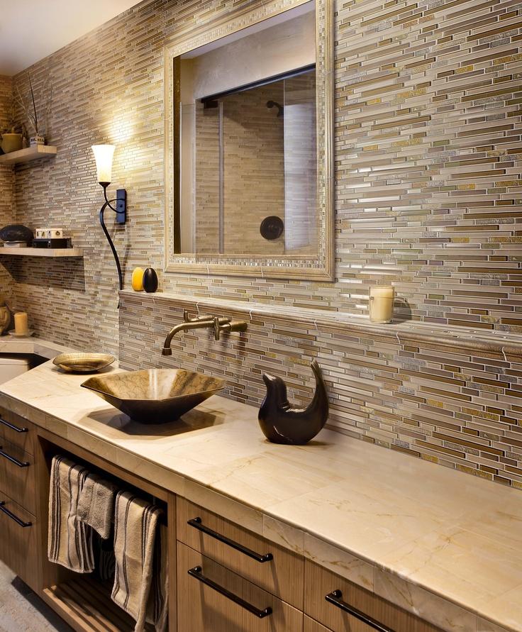 Using Bold Colors In The Bathroom: Bathroom Ideas, Bathrooms Decor And Bathroom Tiling