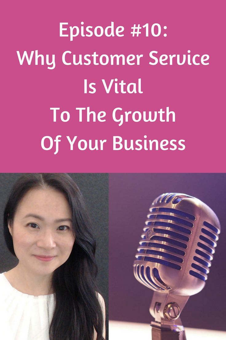 In this episode, I share 4 reasons why providing excellent customer services to your existing customers is important.  It affects the bottom line of your business in a big way. I also share a few key statistics from Kissmetrics and Bain & Company.  If you want to grow your business to the next level, then this episode is for you.