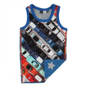 Molo Jim Toy Cars Vest Top £17.95
