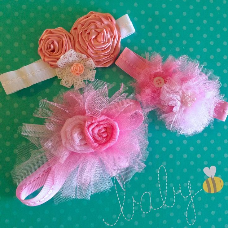 How To Make a Baby Headband Tutorial by Katie Crafts; http://katiecrafts.com