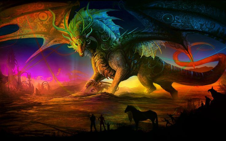 Fantasy Dragon In Color Color Dragon Fantasy Wallpapers 4k Free Iphone Mobile Games Fantasy Art Fairy Wallpaper Fantasy