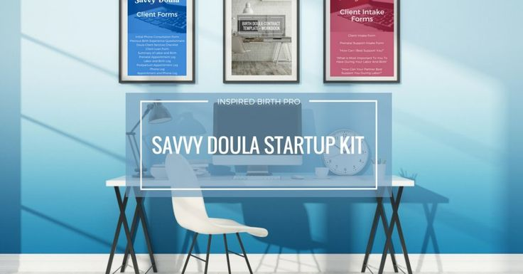Organize your doula client files using Savvy Doula Forms. This set includes client forms for all your note taking, intake forms for your clients to complete, and a doula contract template.