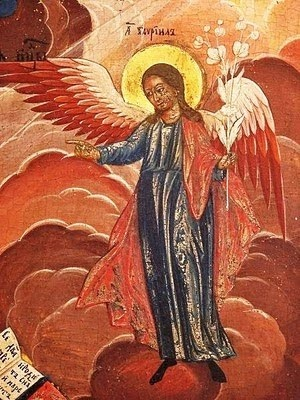 Russian Icon of an Angel