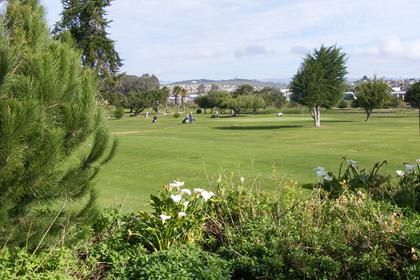 View of public golf course in Grover Beach