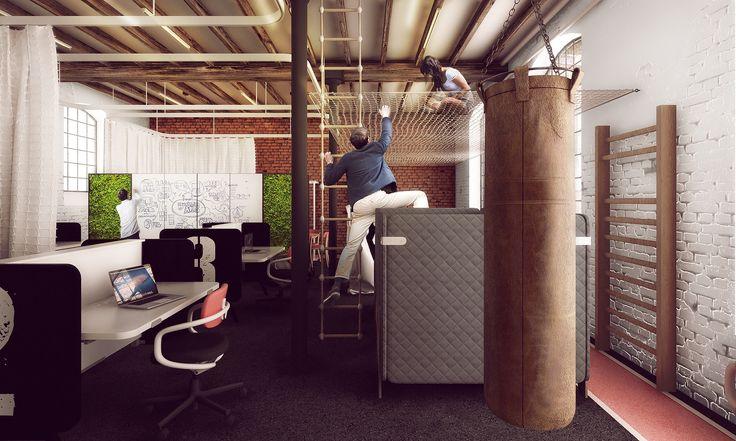 biura dla startupów w off piotrkowska #office #startup #smartoffice #letswalk #sport #oshi #gym