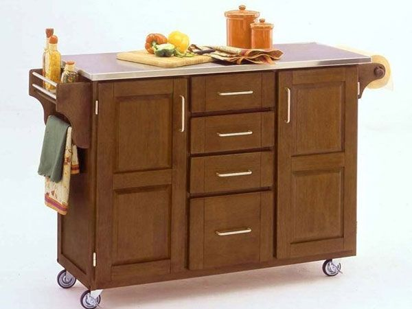 portable kitchen island with classy look kitchenidease remodeling