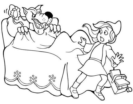 15 best Best Little Red Riding Hood Coloring Pages images on Pinterest