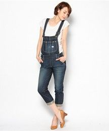 Lee Lady's(リーレディース)のHERITAGE LITE TAPERED OVERALL(サロペット・オーバーオール)|インディゴブルー