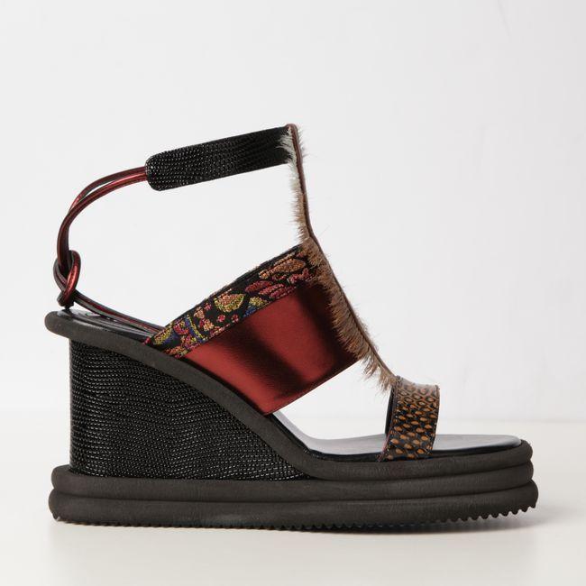 #DRIESVANNOTEN PLATFORM SANDAL | Platform sandals, Vans