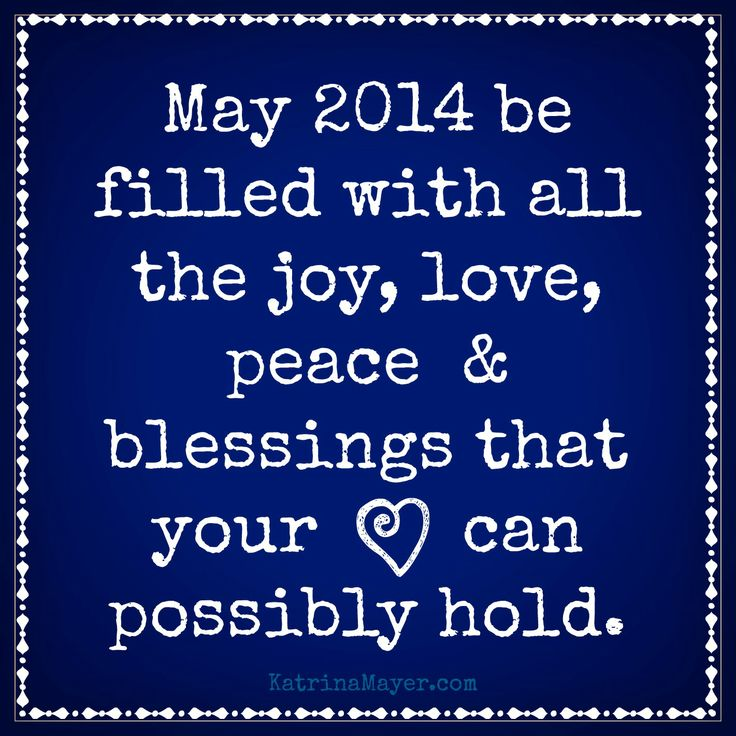Wishing you all the joy, love, peace & blessings that your heart can possibly hold!