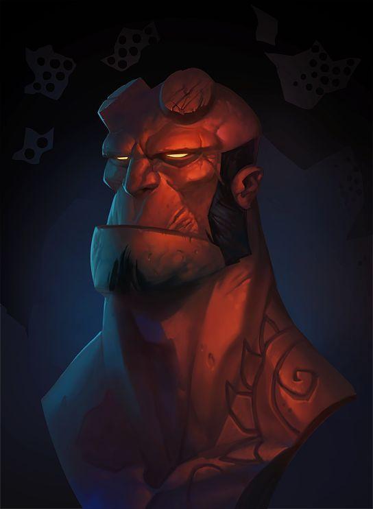 Hellboy by Gimaldinov.deviantart.com on @deviantART