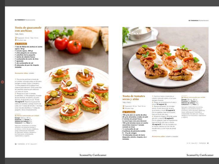 Tosta guacamole y tosta tomates secos y atún