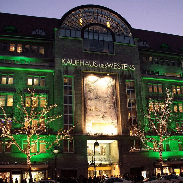 KaDeWe department store, Berlin - the German equivalent to Harrod's