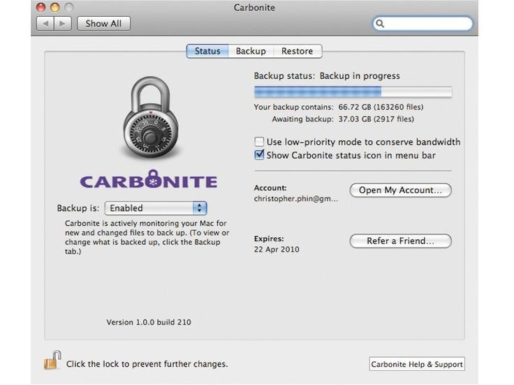Carbonite review | An ultra-secure remote backup to rival Time Machine Reviews | TechRadar