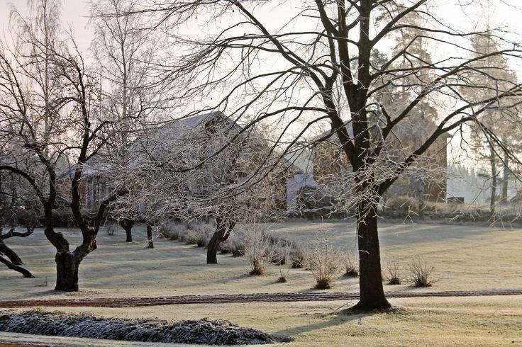 Joulukuisessa aamussa, Askolan kauniissa maisemissa