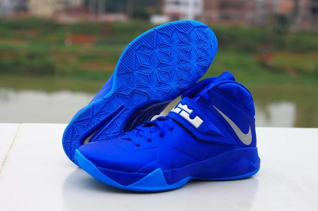 sports shoes d26d0 d897f Cheap Sale Nike Lebron Zoom Soldier 8 Cheap sale Royal Blue ...