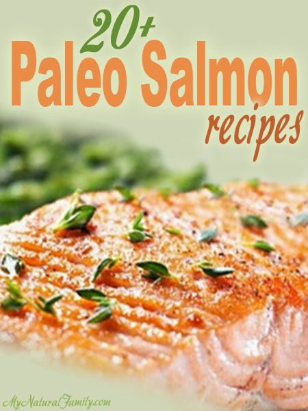 GONE PALEO?  HERE ARE 20+ SALMON RECIPES FOR YOU TO TRY