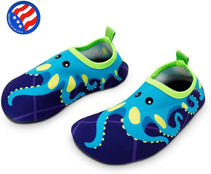 9e8427a67c Amazon.com | Bigib Toddler Kids Swim Water Shoes Quick Dry Non-Slip ...