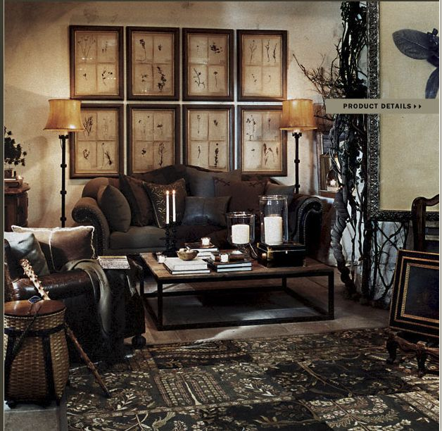 138 best ralph lauren home french parisian and castle for Ralph lauren living room designs