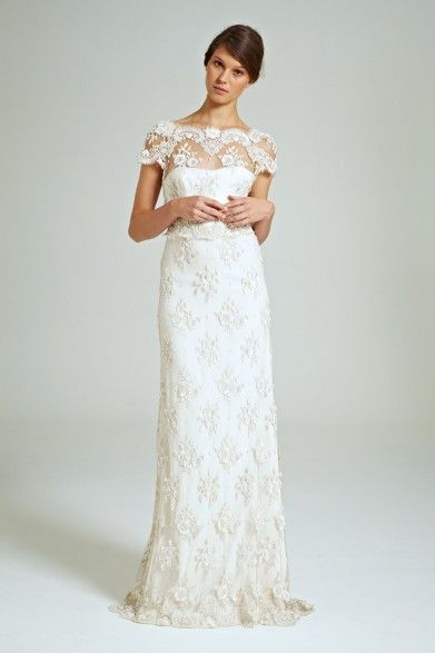 Collette Dinnigan Magical Garden Beaded Lace Gown