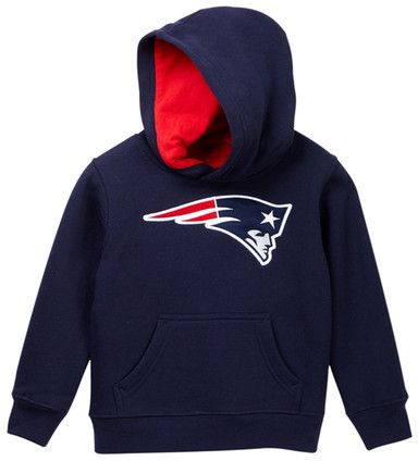 NFL New England Patriots Logo Pullover Hoodie (Little Boys)
