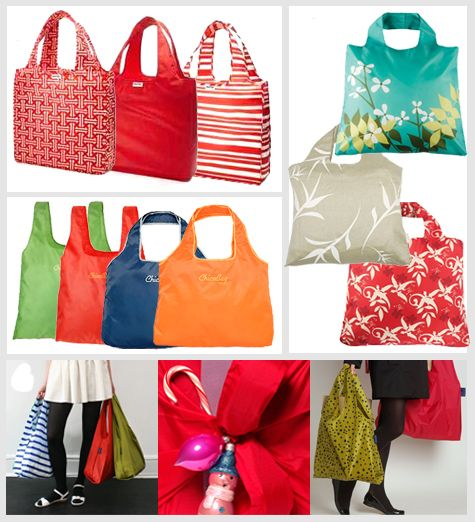 Use Reusable Shopping Bags for Gift Wrap. They Come in Many Styles.