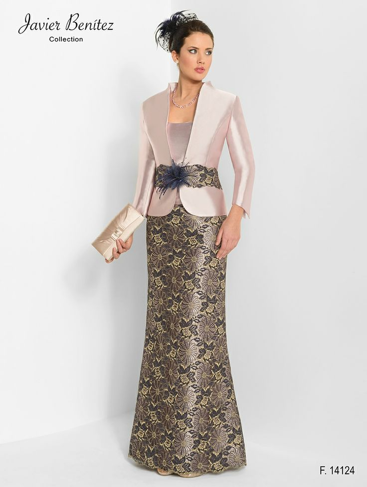 Elegante vestido largo