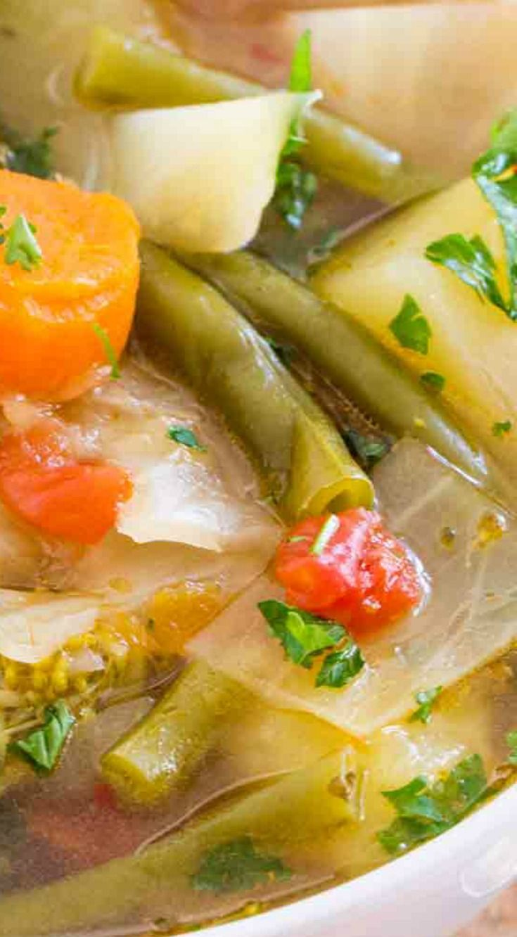 Instant Pot Weight Loss Soup A Very Easy To Make Veggie Soup That