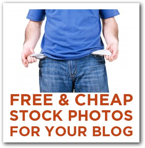 Free & Cheap Stock Photography for Your Blog...Seriously considering starting up a blog when after graduation.