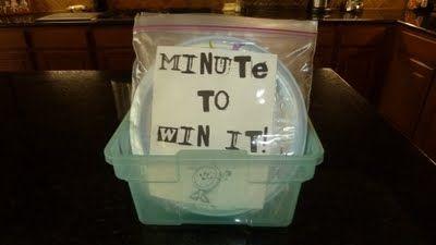Minute to Win it Ideas!