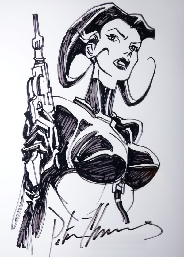 Aeon Flux by Peter Chung