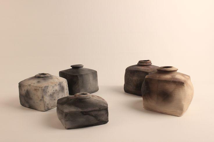 pit firing ceramics - JU JINAM 2015