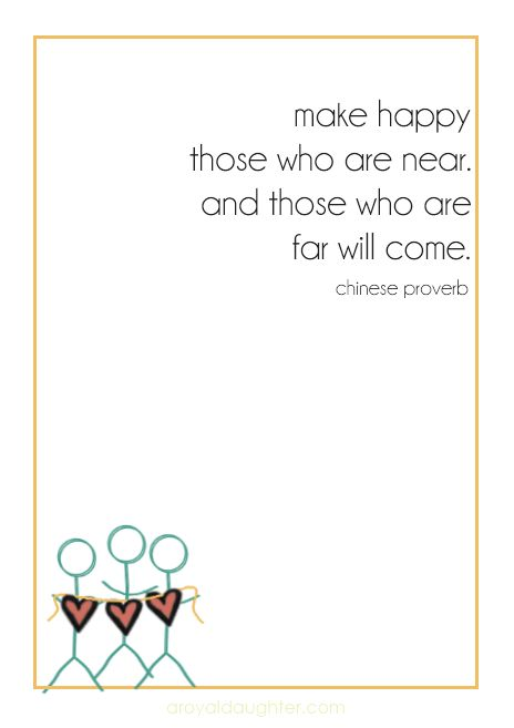 Chinese Proverb about friendship Free downloadable printable!