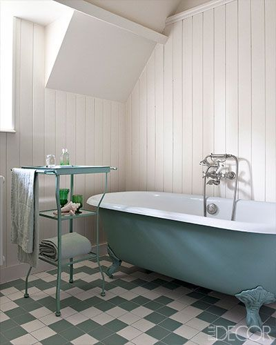 "Master Bath: ""The decor has that same timeless feeling."""