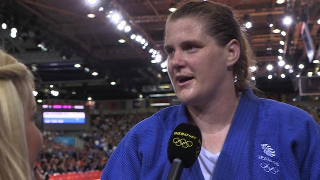 BBC Sport - Olympics judo: Great Britain's Karina Bryant wins bronze medal
