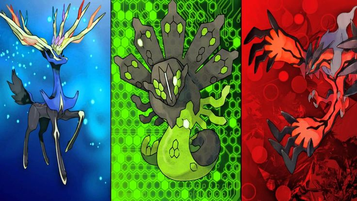 Here's a List of all Kalos Region Legendary Pokemon! #pokemon #pokemongo #pokemoncommunity #shinypokemon