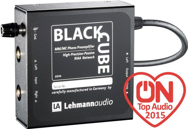 Lire la suite Préampli phono Lehmann Black Cube : un must toujours incontournable dans sa catégorie